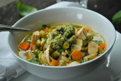 Organic Vegetable Soup Recipe